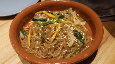 Japchae - Believe it or not this was my first time to taste this famous Korean dish.